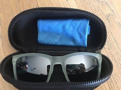 Costa Del Mar Panga Sunglasses Matte Seafoam Crystal Silver Mirror 580P