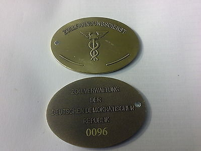 Zollfahndungsdienst- Zoll- Zollfahndung--Dienstmarke - Ausweis Dekoration