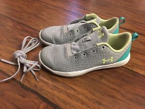 Like New Under Armour Sneakers kids sz12