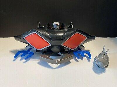 Imaginext DC Super Friends Black Manta Sub Submarine Figure & Shark Complete