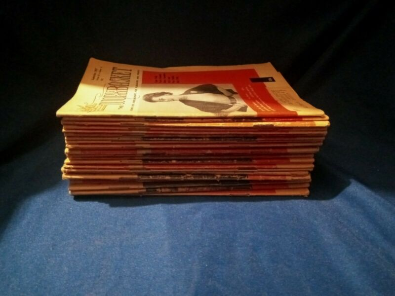 The WORKBASKET Lot of 24 Vintage Magazines All From The 1950