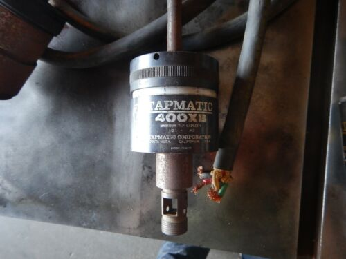 TAPMATIC TAPPING HEAD MDL 400 XB 1/2 CAPACITY 1/2 SHANK