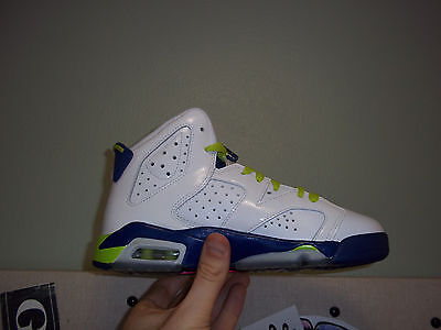 Kids Nike Air Jordan 6 Retro GG Size 4Y (543390 108)