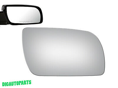Mirror Glass Replacement for Chevrolet C1500 2500 3500 Passenger Right Side -
