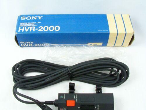 Sony HVR-2000 Remote Control Unit HVC Cameras