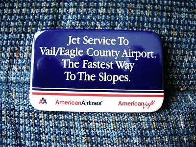 American Airlines - PIN - Jet Service to VAIL / EAGLE county airport   EXCELLENT