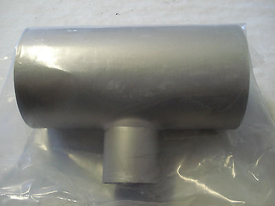 Mdc Vacuum 404554 Teereducer 4in Od To 2inno Fittings