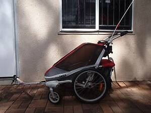 Chariot Cougar 2 bike trailer and accessories Kenmore Brisbane North West Preview