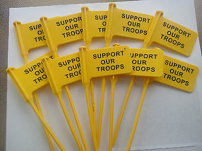 10 pack RANGEQUIP Empty Chamber Indicator Safety Flag (Safety Yellow)