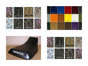 HONDA TRX400 Seat Cover Rancher 2000 2001 2002 2003 2004   in 25 COLORS  (ST)