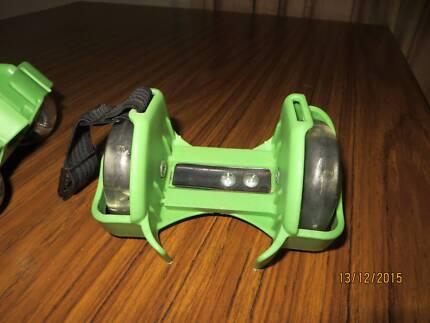 shoes slip on skate light up size any roller wheels anytime shoe