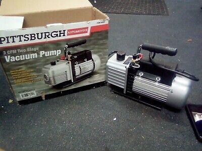 Pittsburgh 3 Cfm Two Stage Vacuum Pump