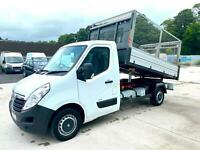 Vauxhall Movano 2.3CDTI 16v ( 125ps ) ( Euro V ) MWB 3500 HD Caged Tipper. 2014