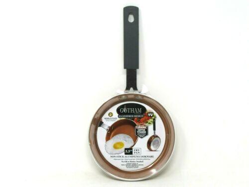 """Gotham Steel 5.5"""" Egg Fry Pan Non-Stick Ceramic Copper Titanium Coating"""
