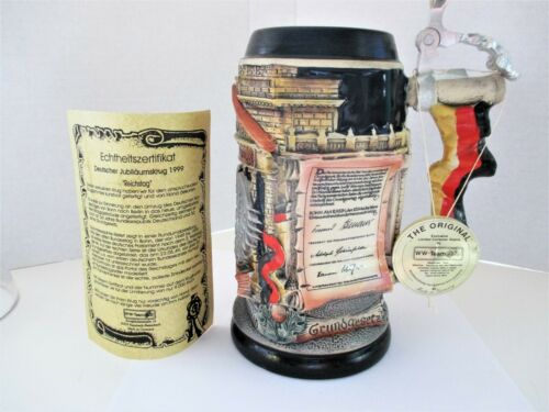 WW TEAM GERMANY LIMITED EDITION BEER STEIN
