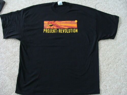 Linkin Park Projekt Revolution 2002 T-Shirt Adult 3XL NEW official XXXL