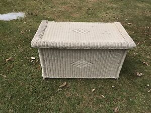 Cane toy box/ blanket box Warriewood Pittwater Area Preview