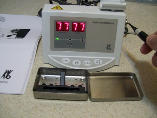Kavo Diagnodent +A Tip Laser Dental, Charger & New Battery, Steriliz