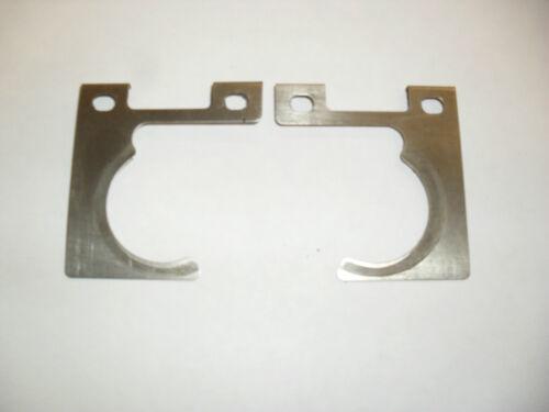 Suzuki GS500 rear brake caliper pads anti squeal plate