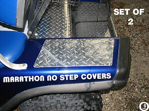 Ezgo-Marathon-Golf-Cart-Diamond-Plate-NO-STEP-COVERS