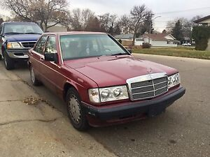 Mercedes Benz 1990 190E (Open To Offers)