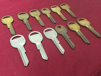 Gm B47k Key Blanks By Curtis Set Of 12 - Locksmith