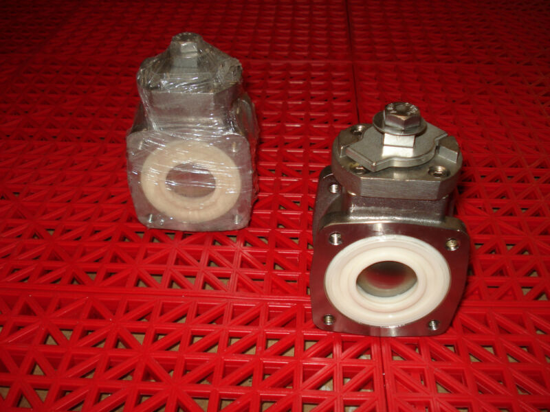"""Akron Heavy Duty Swing Out Valve 1"""" Body Only 700483 Ball Valve SS Ball  NEW"""