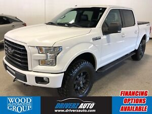 2015 Ford F-150 XLT LIFTED TRUCK, HEATED LEATHER SEATS , PANO...