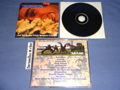 Tub Ring And the Mashed Potato Mountain Etiquette 1995 CD That Handsome Devil
