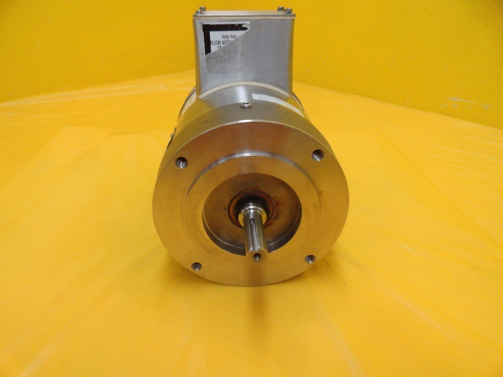Baldor 350255r052g1 Inverter Drive Pump Motor 1 3 Hp Used