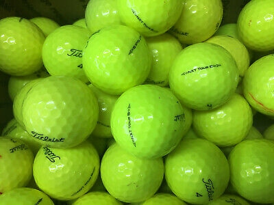 Titleist Yellow NXT Tour S....12 Premium AAA Used Golf Balls..FREE SHIPPING!