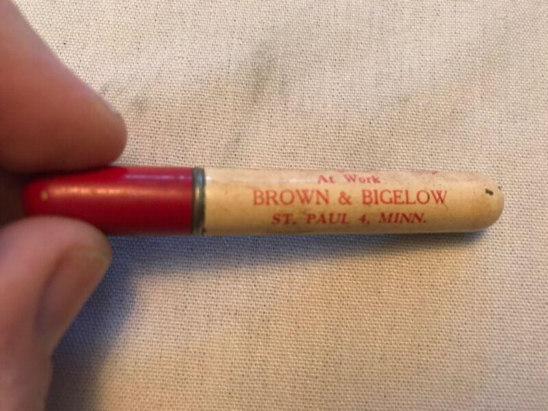 Brown & Bigelow Vintage Advertising Cigarette Lighter, St. Paul, Minn.
