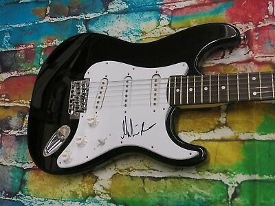 MARTIN BARRE ( JETHRO TULL ) Signed Electric Guitar LOM COA (G522)