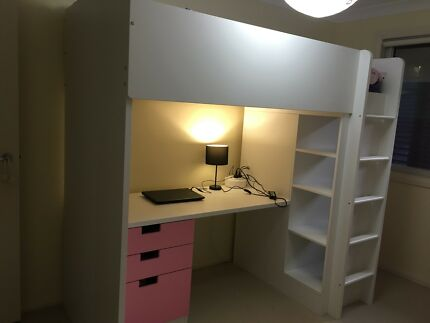 Stuva Girls loft bed