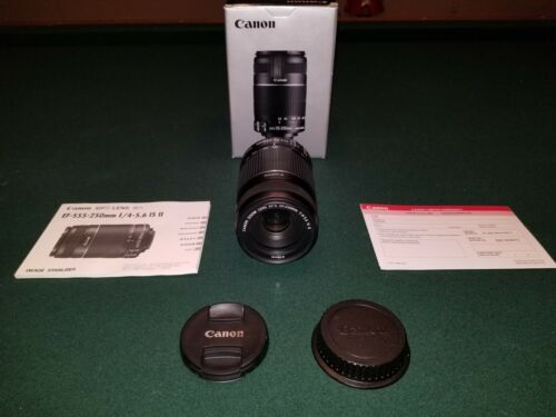 CANON EFS 55-250mm F/4-5.6 IS II