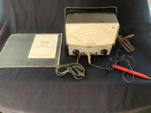 Triplett Model 850 analog volt meter