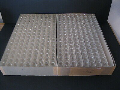 Wheaton Glass Co 10 Ml Glass Vialsscrew Thread Topsno Caps2 Boxes 280 Total