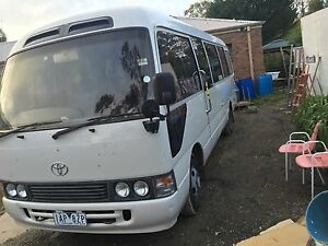 1995 Toyota coaster LWB bus Melbourne Airport Hume Area Preview