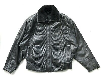 Gianni Versace Leather Jacket 1990s