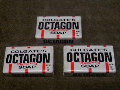 Lot 3 Colgate Octagon All Purpose Soap Bar 7oz