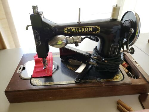 Antique Wilson Rotary Electric Sewing Machine, circa 1927, @KIDSTOYZ®2021