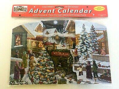 Vermont Christmas Company Advent Calendar Twas the Night Before Christmas Poem  ()