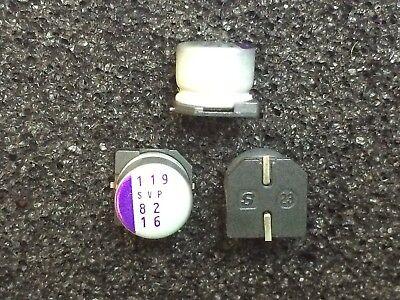 16svp82m Sanyo Os-con Capacitor Polymer 82uf 20 16v Smd 30 Pieces