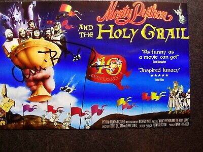 CONNIE BOOTH Hand Signed Autograph 4X6 photo - MONTY PYTHON AND THE HOLLY GRAIL