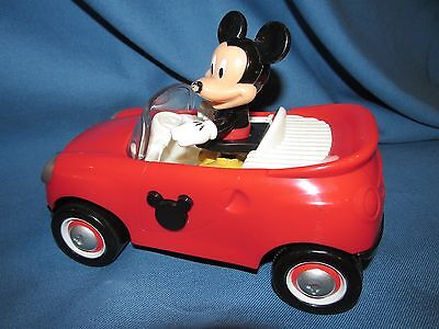 Disney Mickey Mouse Clubhouse Mickey Mouse   Talking Red Car W Batteries