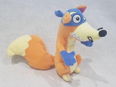 "Swiper Fox From Dora The Explorer 7"" Soft Toy Plush By Ty"