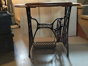 Antique  singer sewing  machine  stand  ""