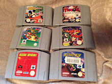 Nintendo 64 Games x 6, Excellent Condition, N64 Stirling Stirling Area Preview