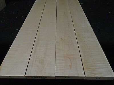 "3//8/"" x 7-7.75/"" x 35/"" HARDWOOD THIN WOOD SOFT MAPLE"