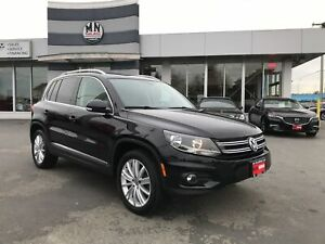 2015 Volkswagen Tiguan Highline 4Motion 2.0T SPORT PKG ONLY 96KM